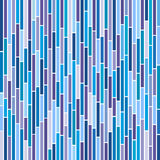 Abstract Stripes in Cool Colours Royalty Free Stock Photography