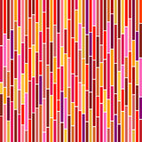 Abstract Stripes in Hot Colours. Abstract vertical stripes design in hot colours Stock Images