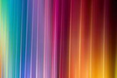 Abstract stripes of rainbow color Royalty Free Stock Photography
