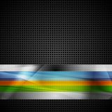 Abstract stripes vector design Stock Images