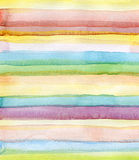 Abstract strips watercolor background Stock Photos