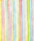 Abstract strips watercolor painted background Royalty Free Stock Photos