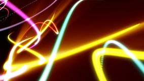 Abstract strokes of light, stock footage Royalty Free Stock Image