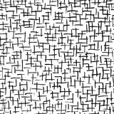 Abstract strokes, seamless pattern for your design Stock Photography