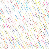 Abstract strokes, seamless pattern for your design Royalty Free Stock Images