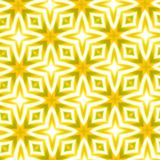 Abstract strong yellow oversaturated kaleidoscopic background Stock Image