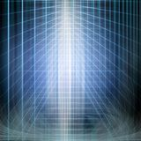 Abstract structural blue light. Background image of abstract structural blue light manipulation royalty free illustration