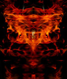 Abstract structure of fire. Stock Photo
