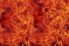 Abstract structure of fire. Stock Images
