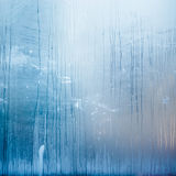 Abstract structure formed by condensation of water on glass.  stock photos