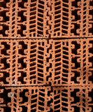 Pattern of Brickwork vertical. Abstract structure of a pattern of brickwork royalty free stock photos