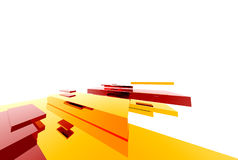 Abstract Structure013. Abstract boxes design13 royalty free illustration