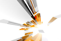 Abstract Structure020. Abstract boxes design20 Stock Photo