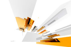 Abstract Structure023. Abstract boxes design23 Stock Photo