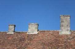 Abstract study of roofing,tiles etc. Royalty Free Stock Image