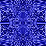 Abstract style of Australian Aboriginal art. Geometric background pattern. Ethnic style Stock Images