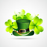 Abstract style st. patrick's day vector Stock Photo