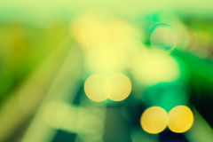 abstract style - Vintage Defocused highway lights Royalty Free Stock Images