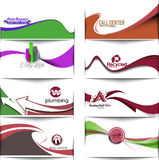 Abstract Styled Banner Royalty Free Stock Images