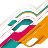 Abstract stylish background. royalty free illustration