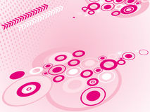 Abstract stylish circles background Stock Images