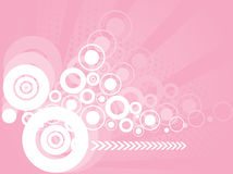 Abstract stylish circles background Royalty Free Stock Photography