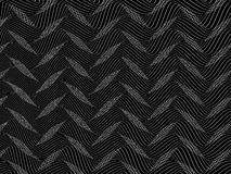 Abstract stylized lines, vector Stock Image