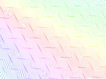 Abstract stylized lines, vector Royalty Free Stock Photos
