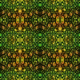 Abstract stylized seamless pattern of reptile skin Stock Photography
