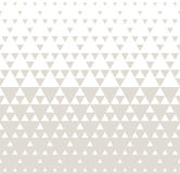 Abstract subtle geometric hipster fashion design print halftone triangle pattern Royalty Free Stock Photo