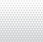 Abstract subtle geometric hipster fashion design print halftone triangle pattern Royalty Free Stock Photos