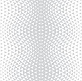Abstract subtle geometric hipster fashion design print halftone triangle pattern Stock Image