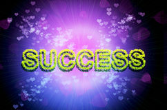 Abstract success background Stock Image