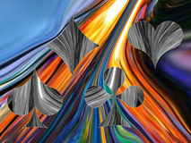 Abstract suits Stock Images