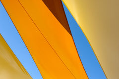 Abstract summer awning Royalty Free Stock Photo