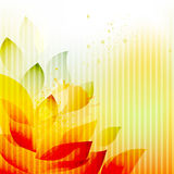 Abstract summer background Stock Photography