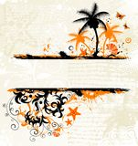 Abstract summer background Royalty Free Stock Photography
