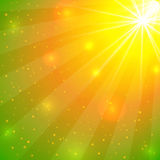 Abstract summer background with lights Royalty Free Stock Photo
