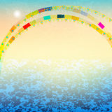 Abstract summer background Royalty Free Stock Photos