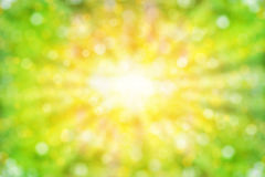 Abstract summer background with sunlight Royalty Free Stock Photo