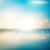 Abstract summer background Royalty Free Stock Images