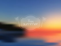 Abstract summer background Stock Image