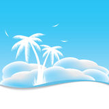 Abstract summer background. Royalty Free Stock Photos