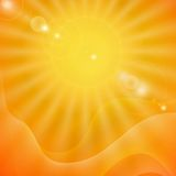 Abstract Summer Background. Vector Illustration. Eps 10 Stock Image