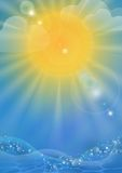 Abstract Summer Background. Royalty Free Stock Photo