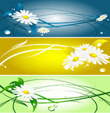 Abstract summer banners Royalty Free Stock Photo