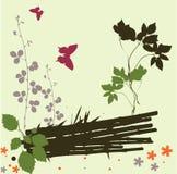 Abstract summer design. Abstract summer landscape design - vector illustration Royalty Free Illustration