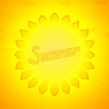 Abstract summer design Royalty Free Stock Photography