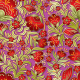 Abstract summer floral ornament Royalty Free Stock Image