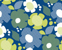 Abstract summer floral seamless pattern Royalty Free Stock Photography